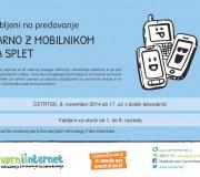 Varno z mobilnikom na splet