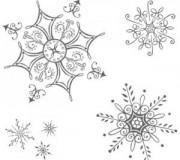 snežinke